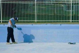 """December 2008: People, """"Pool painter"""""""