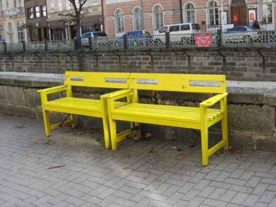 """January 2008: Open, """"Take a seat"""""""