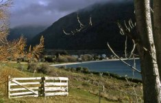 """January 2008: Open, """"Landscape in New Zealand"""""""