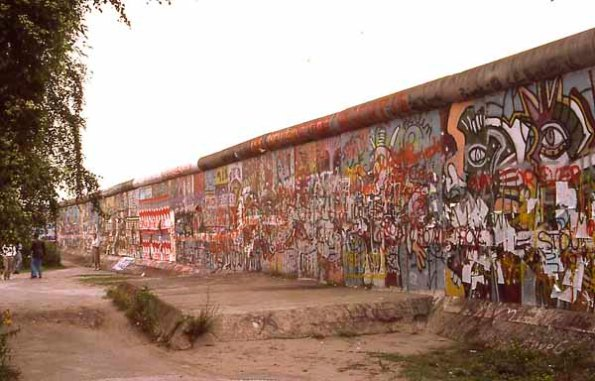 Berlin wall 1987