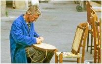 "December 2008: People, ""Chair maker, Paris"""