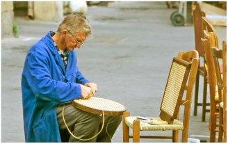 Chair maker, Paris