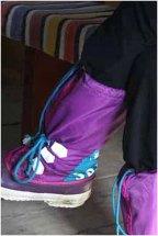 Alina Gortel's fancy boots