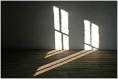 Shadows on the upstairs floor