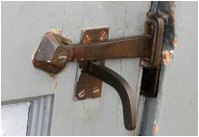 Outside door latch 2