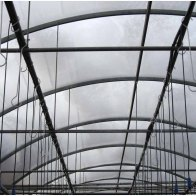 Pipe roof frame