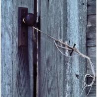 Makeshift door latch