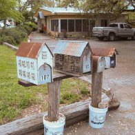 Mailboxes at Wimberley