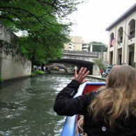The San Antonio River via RioTaxi