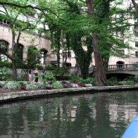 The San Antonio River via RioTaxi