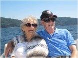 Boat tour up the coast