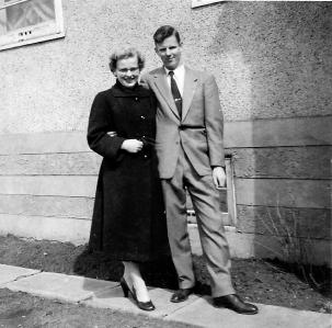 Bertha and Bill c 1954