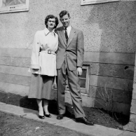 Grace Bos and Bill 1954