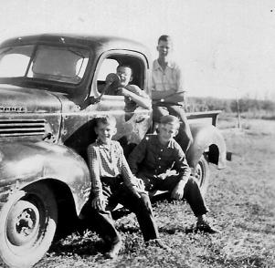 'New' truck 1951