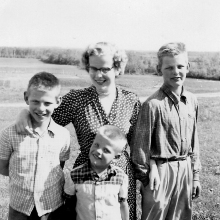 Jack, Bertha, John, WIlco c 1954