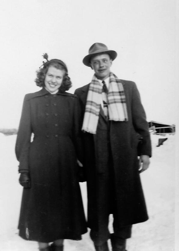Jenny and Bill Van Doesburg