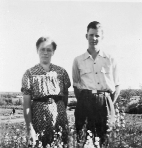 Mother and Bill c 1953