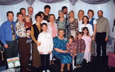 Grandma's 80th 1996