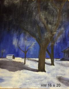 #2 Tree in snow