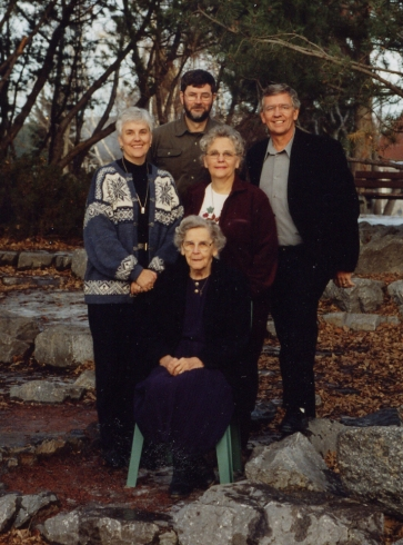 Mom and four children 1999