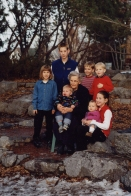 Mom and great-grandchildren 1999