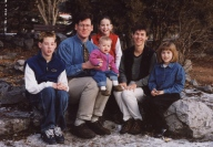 Mark & Debbie family 1999