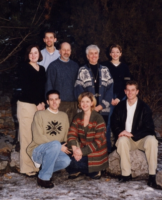Clarence & Jean family 1999