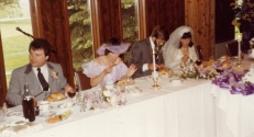 Herman & Kathy wedding 1982
