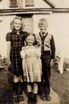 Dixie, Andrew, Gladys 1946