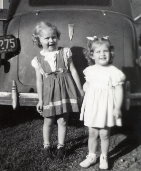 Joyce and Eloise (Trix) 1945