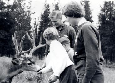 Andrew, Gladys, Jean, Herman