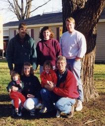 Larry & Marcia Dykstra family 2000s