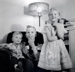 Jean, Peter, Herman 1950s