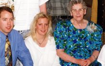 Andy, Elaine, Mom 1996