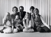 Bill & Dixie family 1971