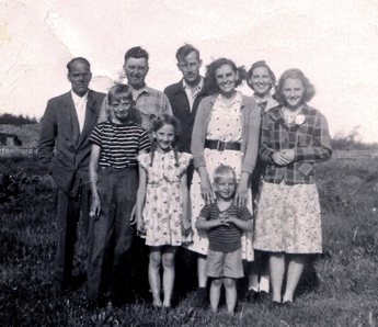 With Dewey and Agnes and unknown 1948