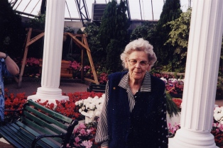 Mom at Muttart 2003