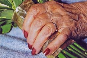 Mom's hand 2015