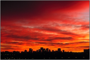 Edmonton sunrise