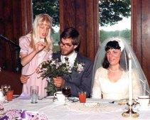 Elaine, Herman, Kathy 1982