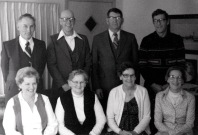 Westra siblings Hank, Ed, Andrew, Herman, Jeanette, Grace, Harriet, Agnes