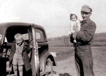 Andrew, Gladys, Hank Westra