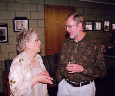 Dixie, Chris Gort at Mom's 90th birthday