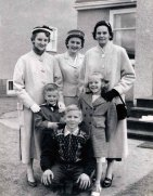 Mom and her family 1958