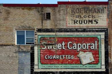 """September 2018: Urban detail, """"No smoking"""""""