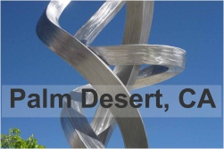Palm Desert sculpture