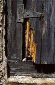 Old door Georgia 2001