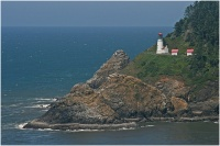 Heceta Head Lighthouse, north of Florence