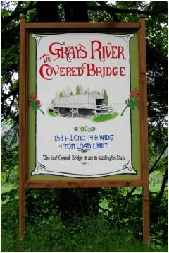 Grays River Covered Bridge, Washington