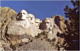 Mt. Rushmore South Dakota 1984